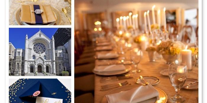 Sneak Peek: Elegant Gold Wedding {Wedding Planners St. Petersburg, Florida}