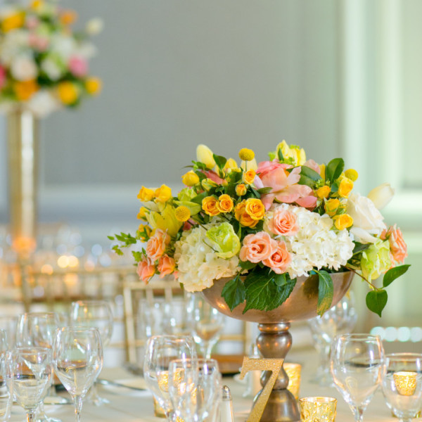 Stylish Citrus Wedding at the Ritz-Carlton, Naples