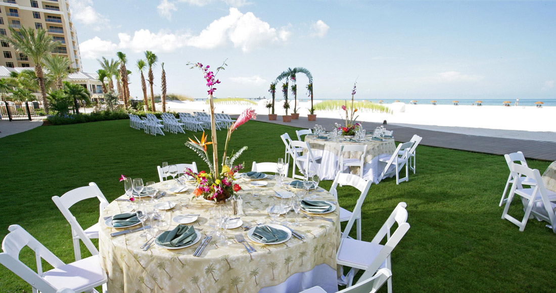 Best wedding venues in tampa bay for 100 200 guests wedding sandpearl wedding junglespirit Gallery