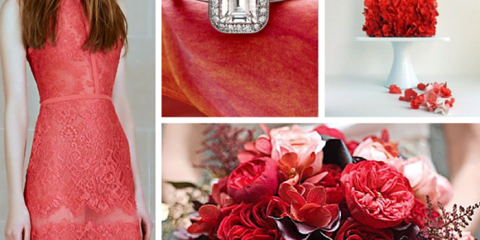 Wedding Style Inspiration: Deep Coral For Fall {Tampa Wedding Planners}
