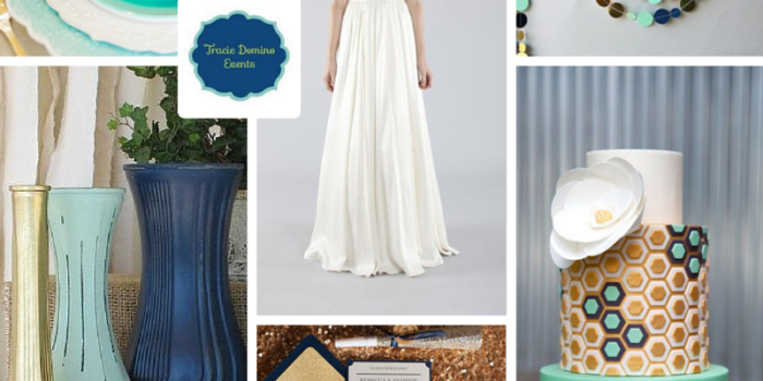 Wedding Style Inspiration: Navy & Mint {Tampa Wedding Planner}