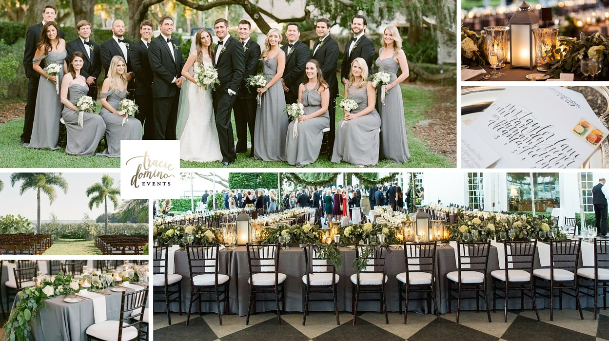 Rustic Elegant Tampa Yacht Club Wedding Tracie Domino Events - Tampa to bahamas