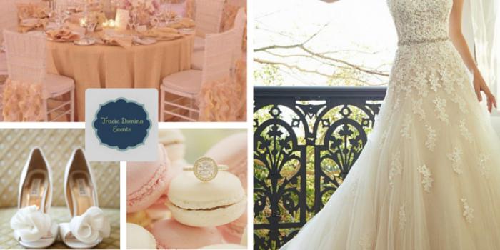Wedding Style Inspiration: Blush & Cream {Tampa Wedding Planners}