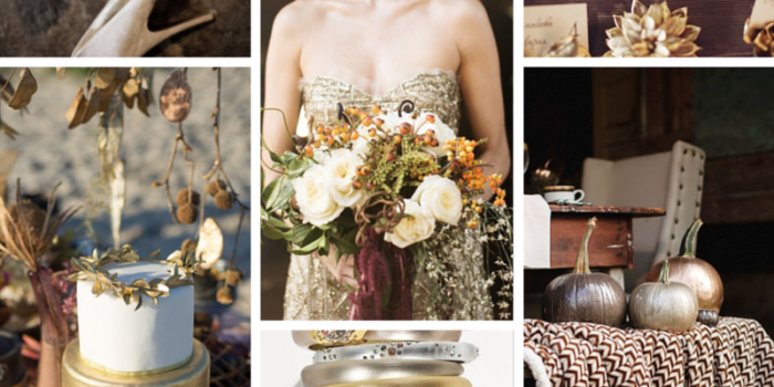 Wedding Style Inspiration: Metallic Wedding - Silver, Gold & Copper {Tampa Wedding Planners}