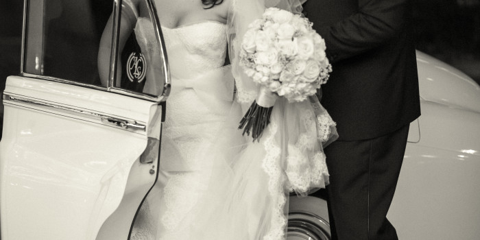 Happy Anniversary Karyn + Aaron! {Vinoy Renaissance Wedding}