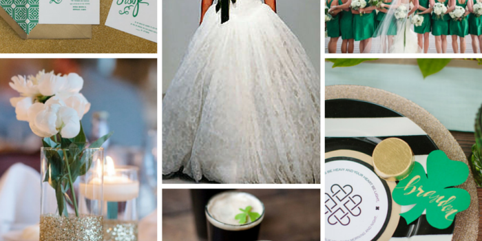 Wedding Style Inspiration: St. Patrick's Day Wedding