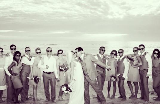 Happy Anniversary Amanda + Chad! {Loews Don Cesar Beach Resort Wedding}