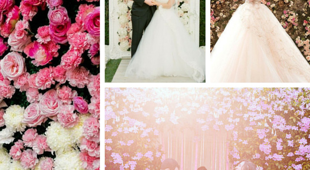 Trend Alert: Wedding Floral Backdrops