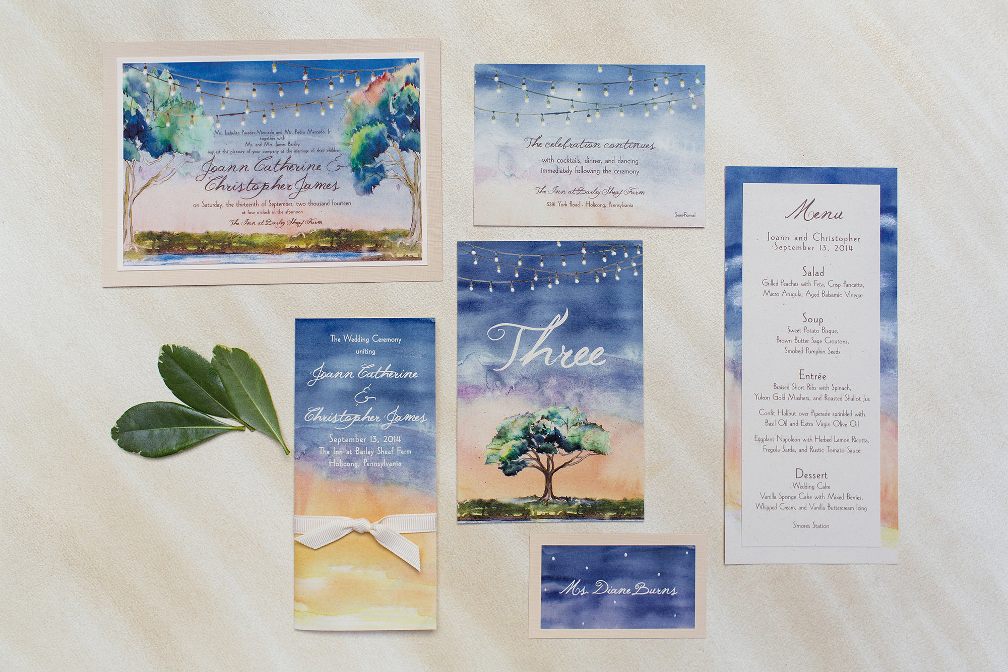 Trend Alert: Watercolor Details for Weddings | Tracie Domino Events ...