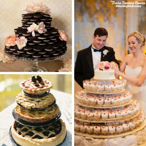 Trend Alert: Non-traditional Wedding Cakes {Tampa Wedding