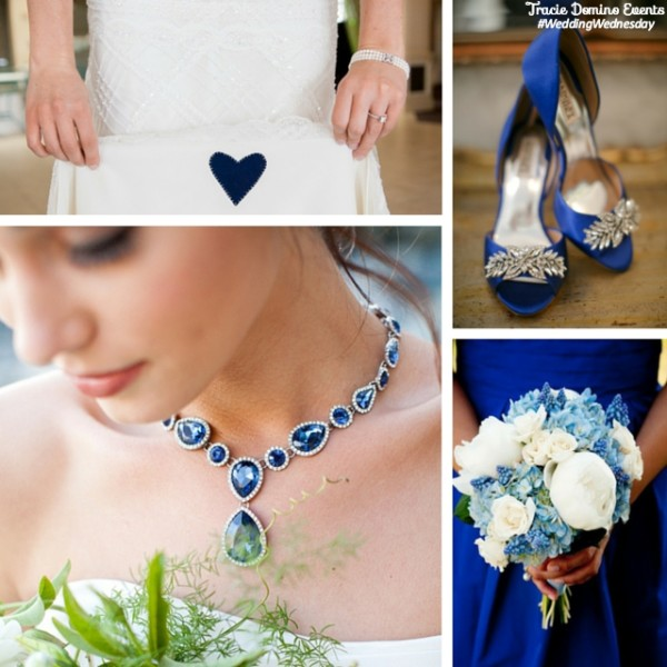 Idea Of The Day: Something Blue For Your Wedding Day