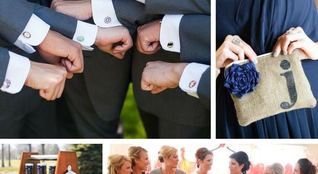 Idea of the Day: Fun Bridesmaids and Groomsmen Gift Ideas