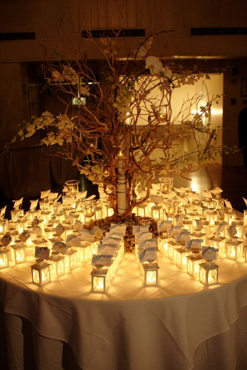 Idea of the Day: Creative wedding escort cards | Tracie Domino ...