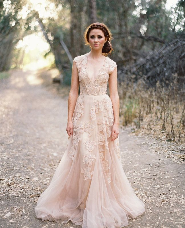 Wedding Gowns Tampa: Trend Alert: Colorful Wedding Dresses {Wedding Planner