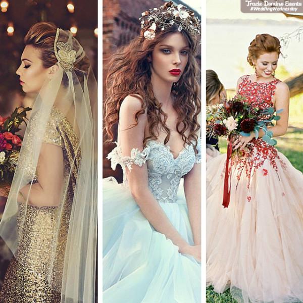 Wedding Gowns Tampa: Trend Alert: Colorful Wedding Dresses {Wedding Planner