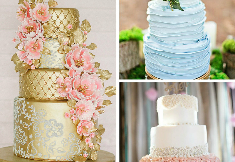 Superb Trend Alert: Textured + Metallic Wedding Cakes | Tracie Domino Events:  Wedding + Party Planners Tampa, FL Park City, UT