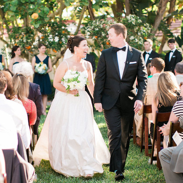 Organic Nantucket-Inspired Wedding