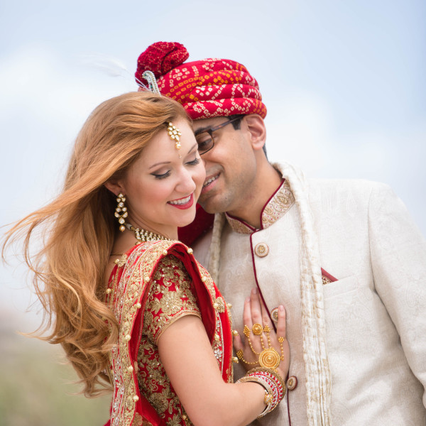 Bright Indian Fusion Wedding at Loews Don Cesar