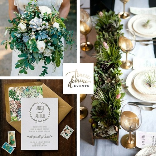 Trend Alert: Succulents as Wedding Decor