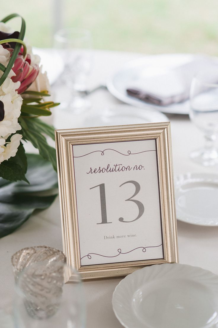 Idea of the Day: New Year\'s Eve Wedding | Tracie Domino Events ...