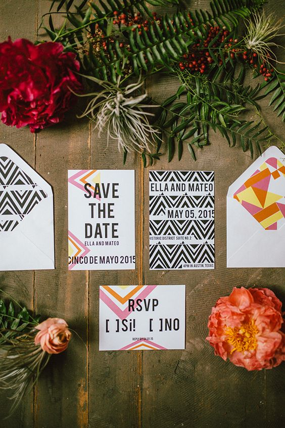 cinco invites