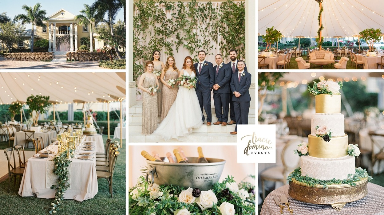 Romantic Tent Wedding At Private Waterfront Estate In Tampa Bay - Tampa to bahamas
