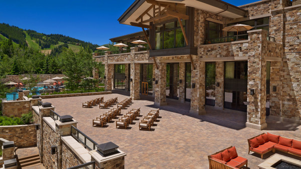 St Regis Deer Valley Astor Terrace
