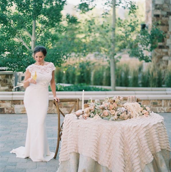 St. Regis Deer Valley Mountain Luxury Wedding Inspiration