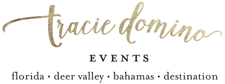 Tracie Domino Events | Wedding Planners Tampa, Deer Valley & Bahamas